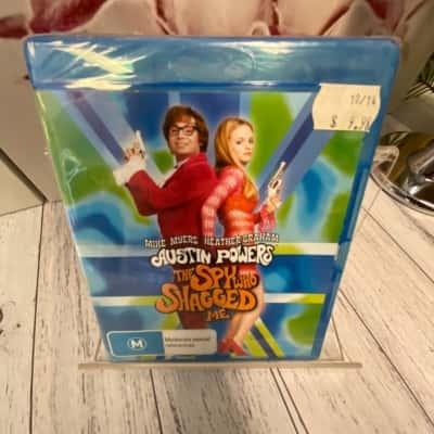 BlueRay DVD Austin Powers 'The Spy Who Shagged Me' Brand New