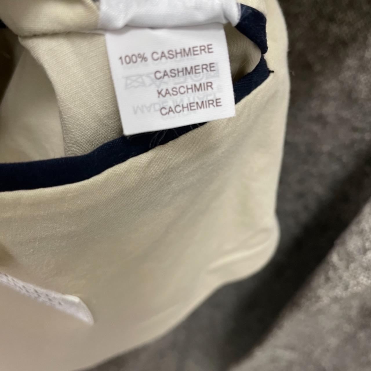 Brunello Cucinelli Mens 100% Cashmere Designer Blazer Size 56 Grey