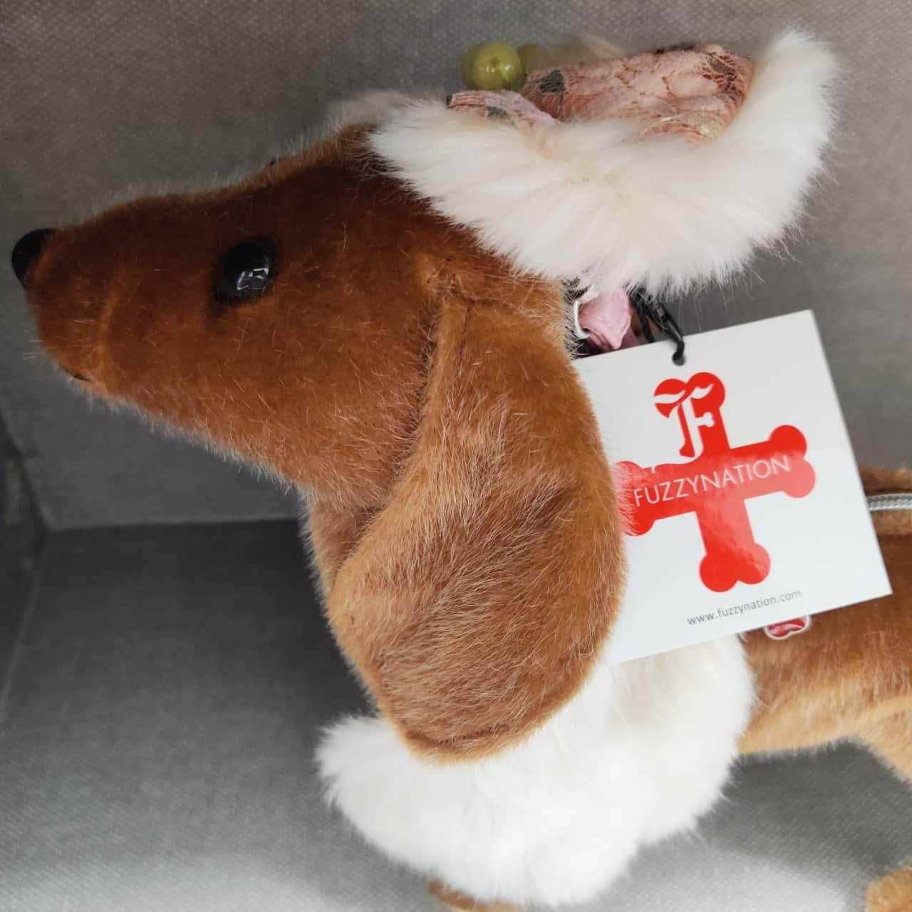 Fuzzy Nation Doggy Purse bag