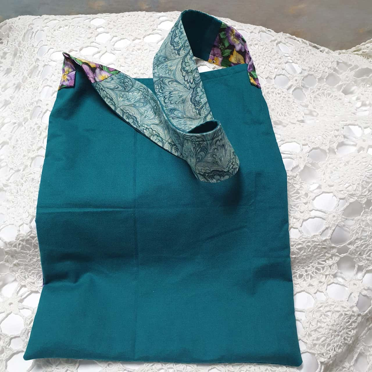 Up-cycled Fabric Craft Bag