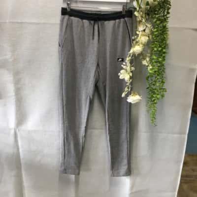 Nike Mens Track Pants Size M Grey
