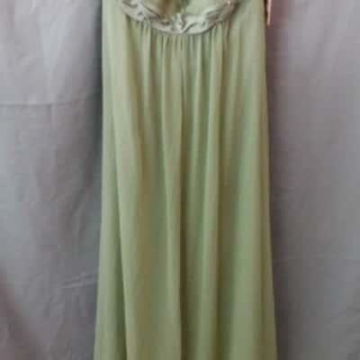 ****EOFYS**** Henry Josef Khaki Green Bridesmaid Dress Size 6 (NWT)
