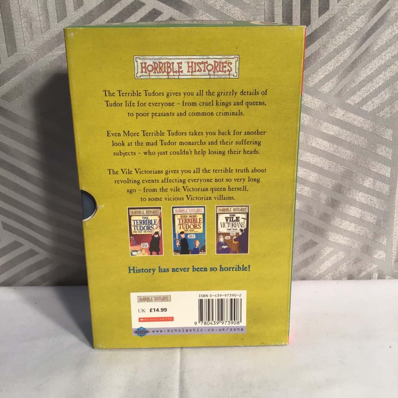 Horrible Histories Three Book Set