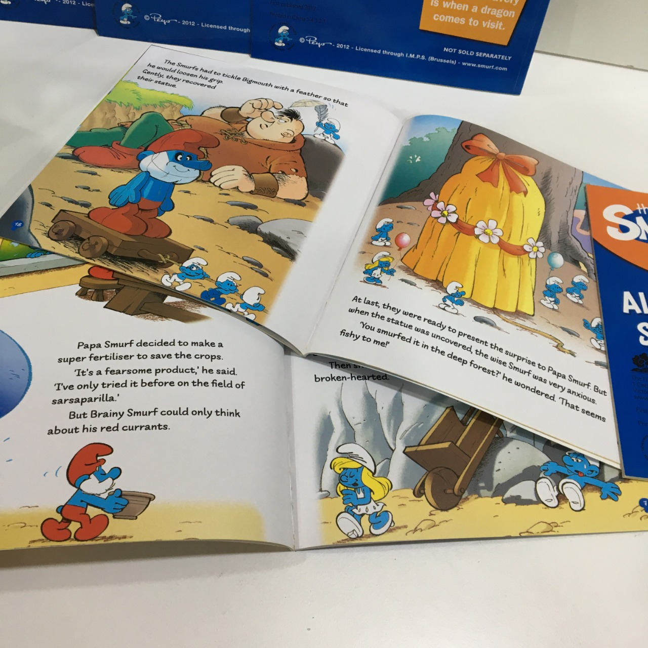 The Smurfs, My First Library, Set of 6 x Books