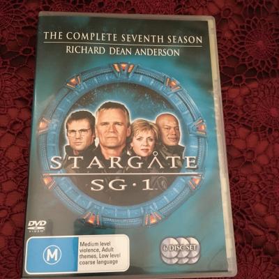 Star Gate SG.1 - The Complete Seventh Season DVD, Region Code : 4/PAL
