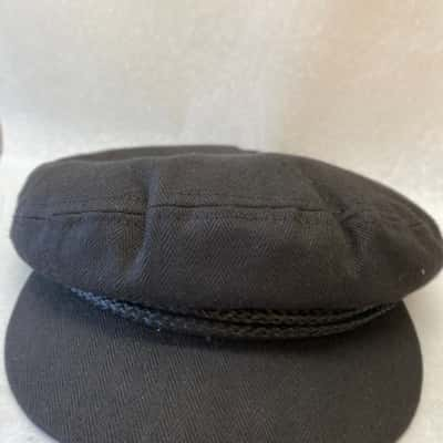 Brixton Men's XL Black Fiddler Cap - New With Tags
