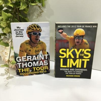 Geraint Thomas & Sky's the Limit, 2 x Book Bundle