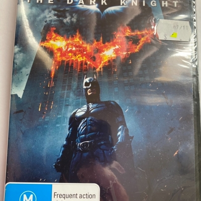 DVD - The Dark Knight Rated M - In Original Packaging