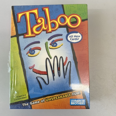 Taboo Board Game - New With Original Packaging