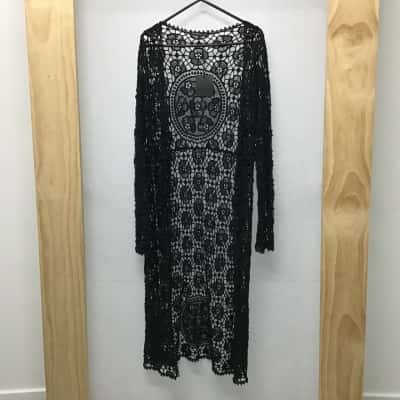 Do Everything In Love, Long lace cardigan, Size 8 - 10, New with tag