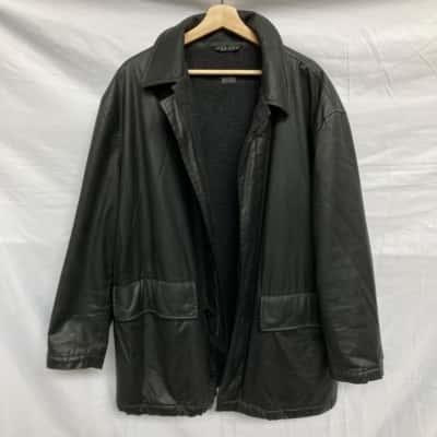 Hugo Boss Mens Winter Coat Black  42R