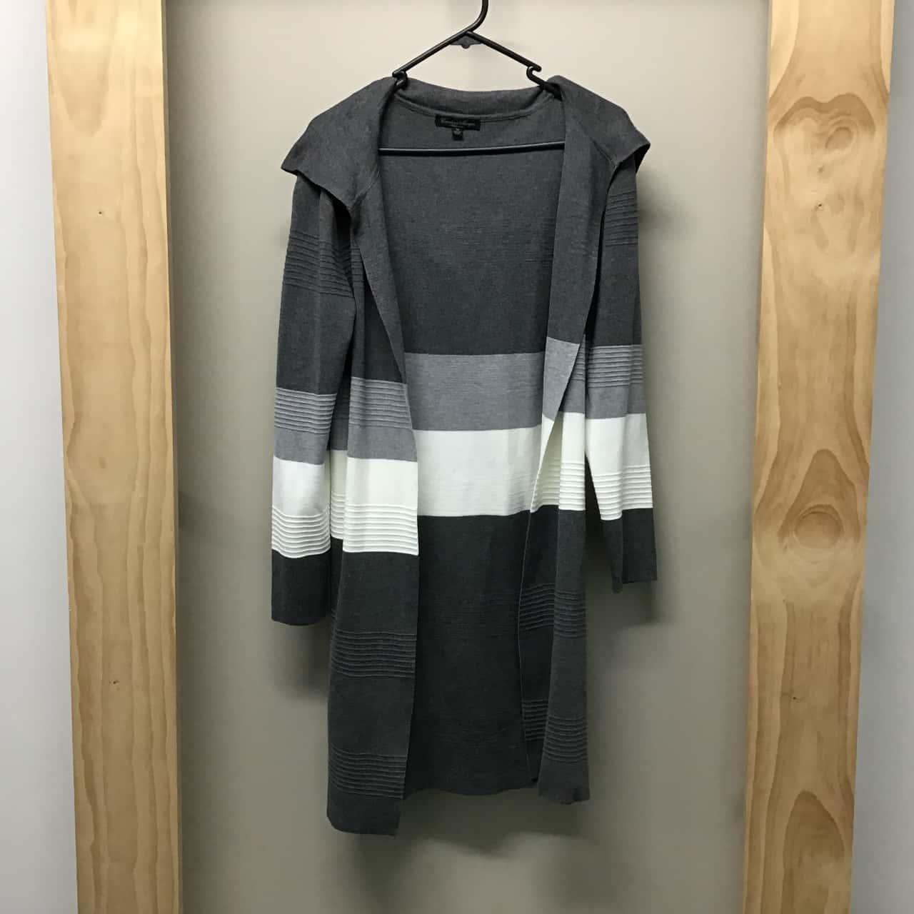 Caroline Morgan, Long hooded coat, Size 10