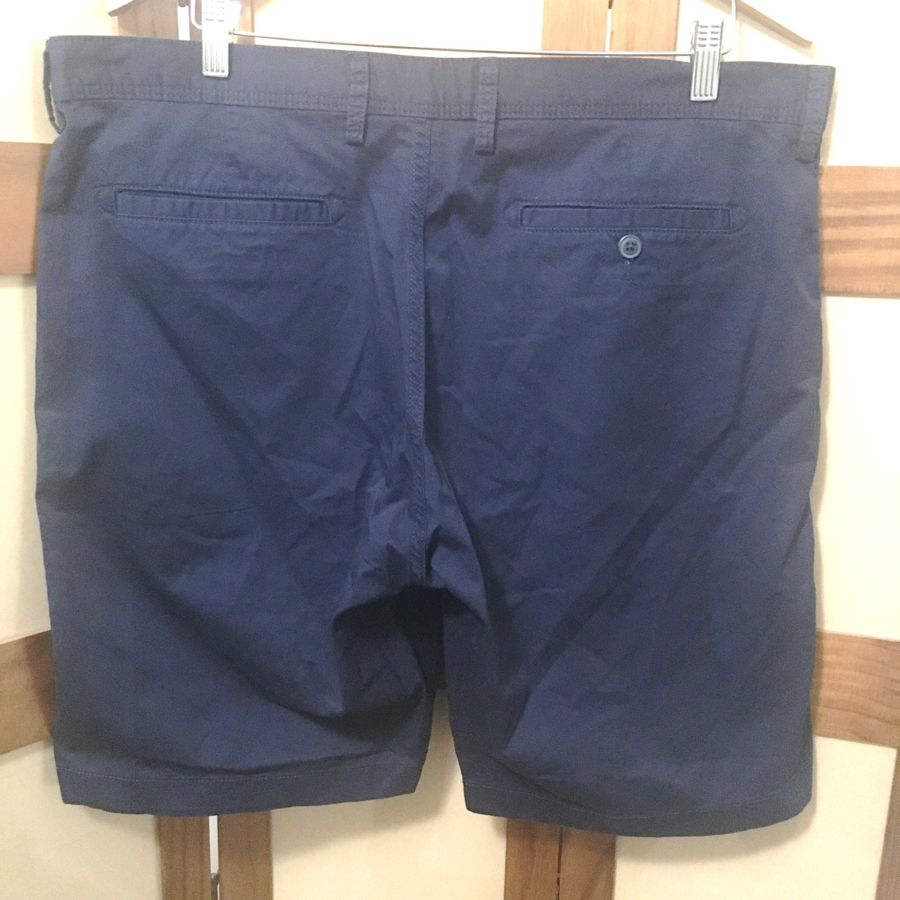Country Road Mens  Size 36 Navy Blue Stretch Chino Shorts BNWT