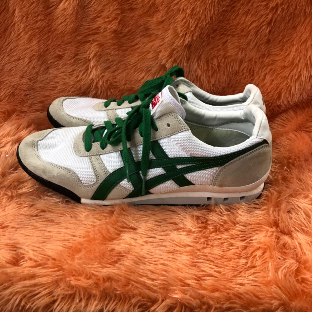 Onitsuka Tiger Mens  Size 11 White/Green