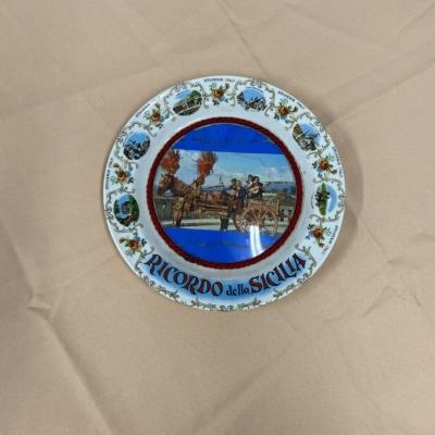 Ricordo Della Sicilia plate