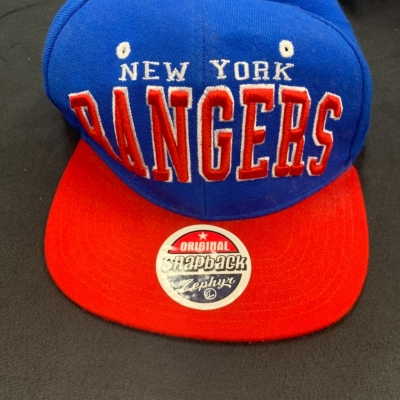 SnapBack Zephyr New York rangers hat