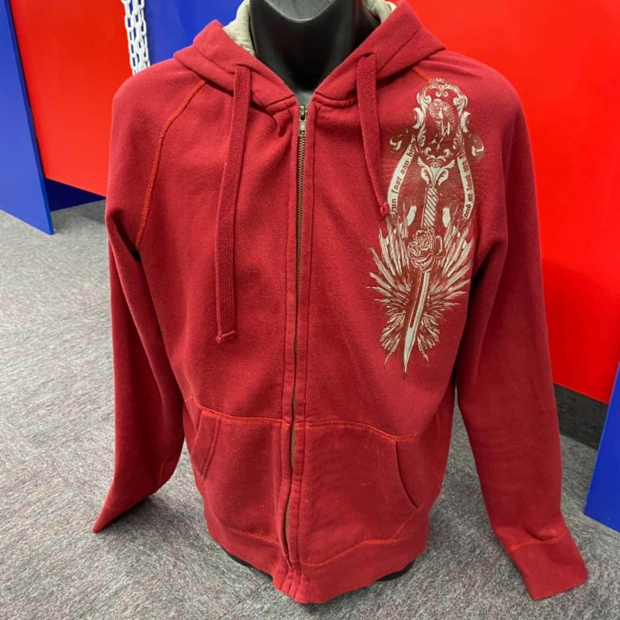 Guess Mens  Size M Red