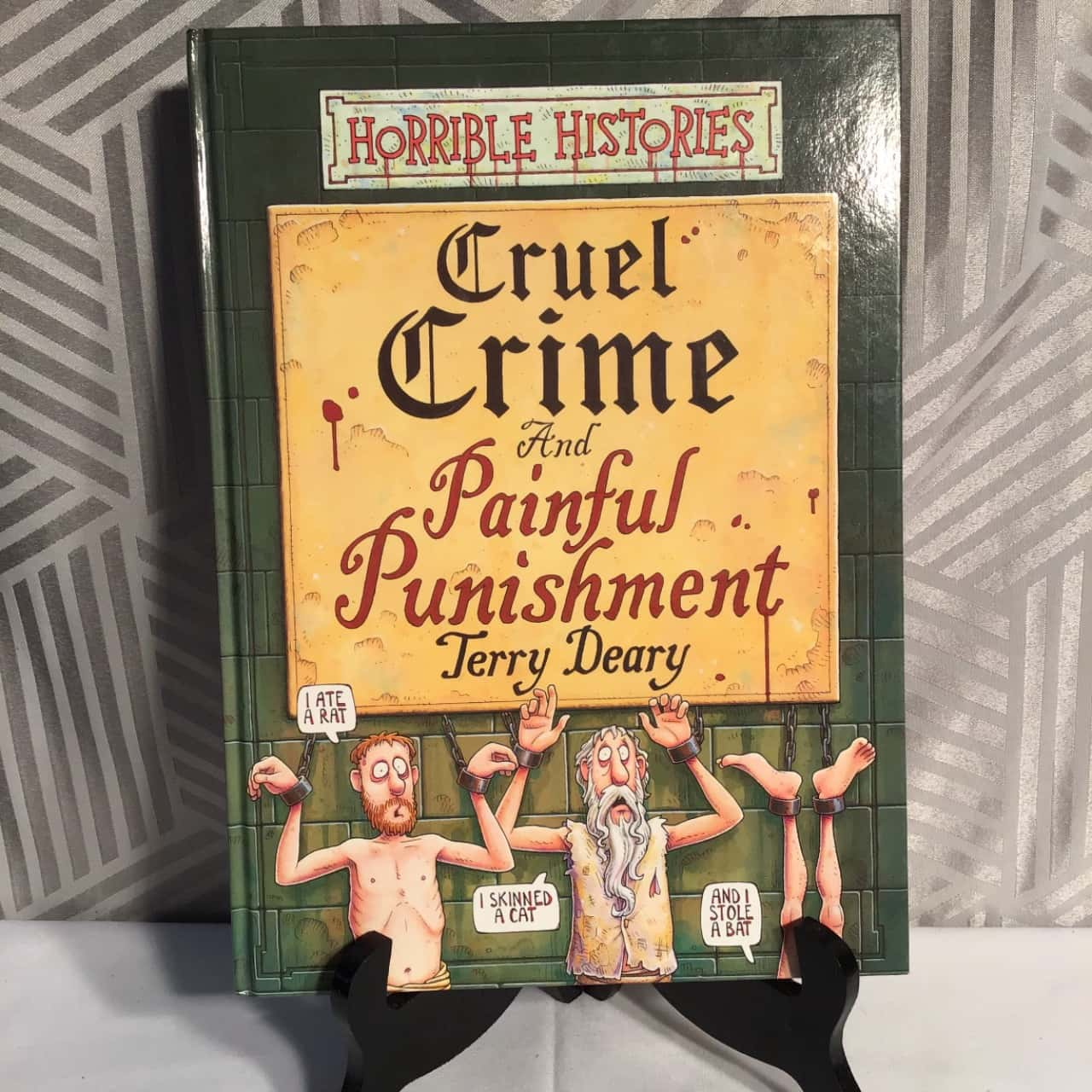 Horrible Histories Cruel Crime By Jerry Deary