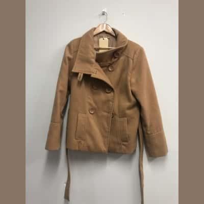 Laura Ashley Women's  Size 12 Brown Winter Coat