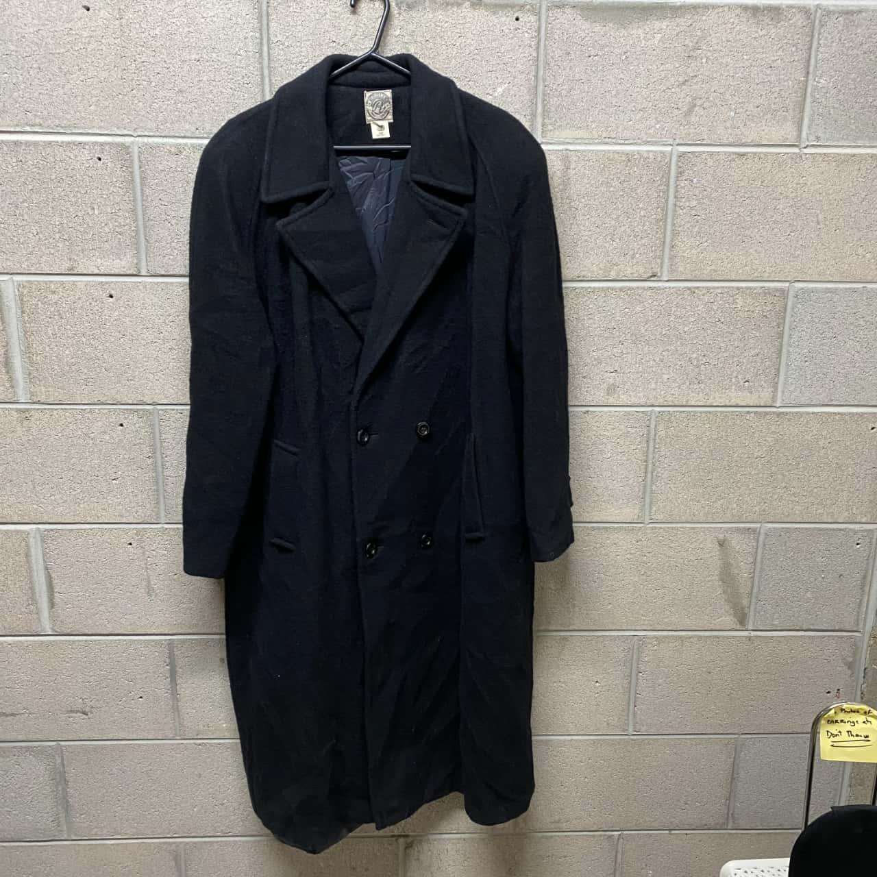 Mens  Size XL Regliss Uomo Winter Coat Black