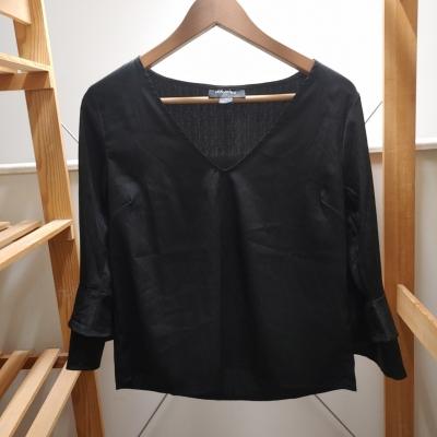 Minkpink Women's Black Long Sleeve Blouse Size XS