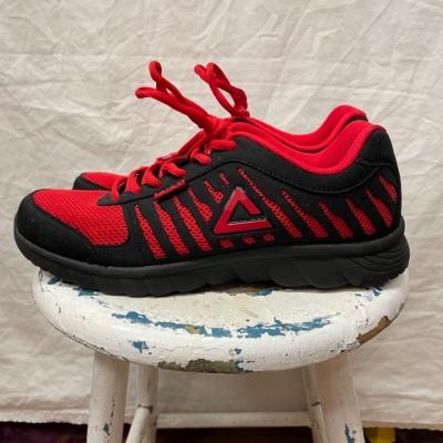 Peak Mens Running Shoes Red/Black Brand New RRP $150