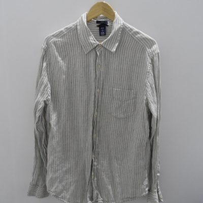 Gap Mens Long Sleeve Pinstripe Shirt