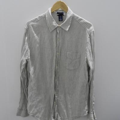 Gap Mens Long Sleeve Pinstripe Shirt