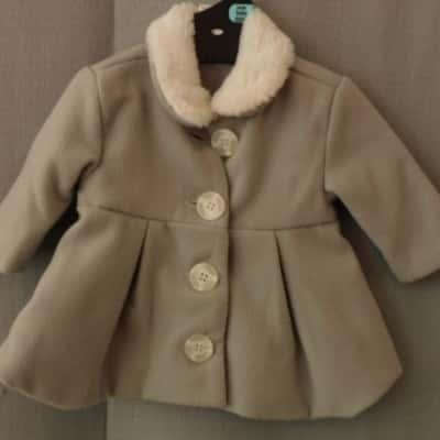 Baby Baby-Best n Less Grey Baby Winter Coat Size 000 (0-3m) UAN
