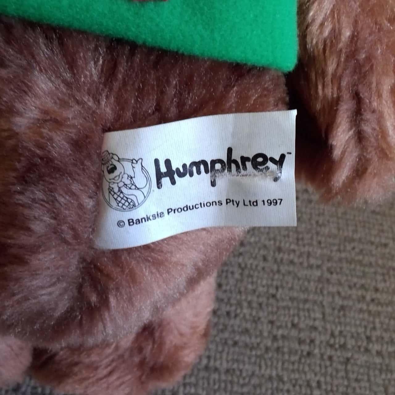 HUMPHREY. B. BEAR PLUSH 30cm