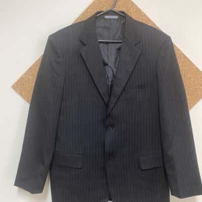 Planet Black /Pinstripe suit