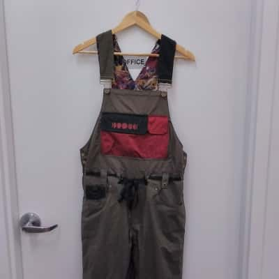 Men's 686 Forest Baily Cosmic Olive Green Overall Small