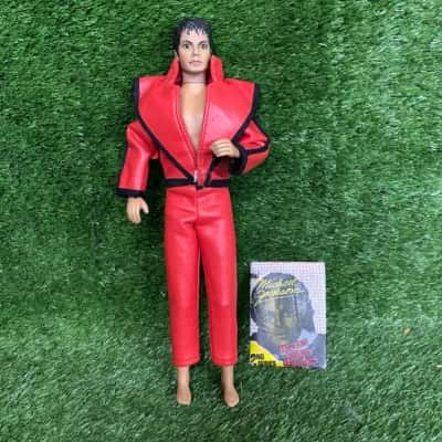 Michael Jackson Super Star Of The 80's Thriller Outfit Doll