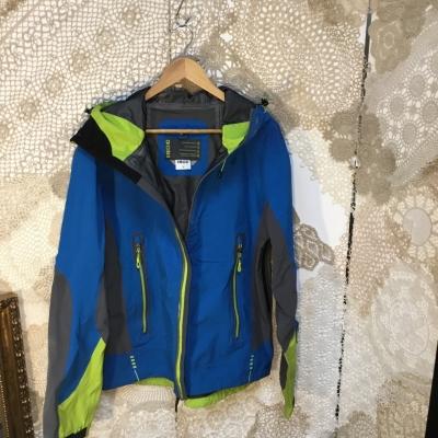 Mens  Size M Raincoat/Winter Coat Blue/Green/Grey