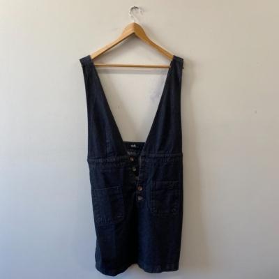 Dotti Women's  Overalls Style  Dress Size 14 Black