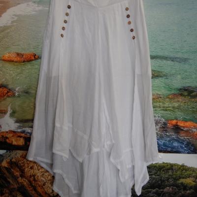 Womens White light for summer beach pants
