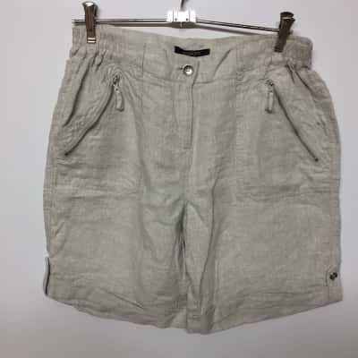 Brand New Pingpong Womens Shorts Size 10 - Beige