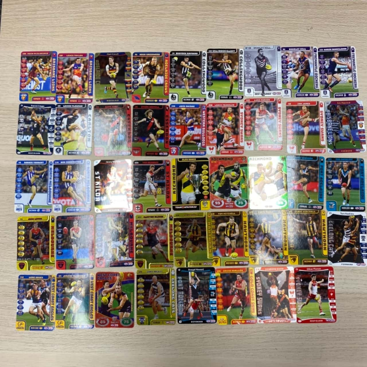 AFL Footy Cards