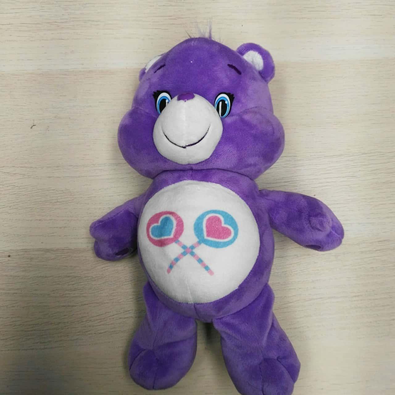 Purple Care Bear