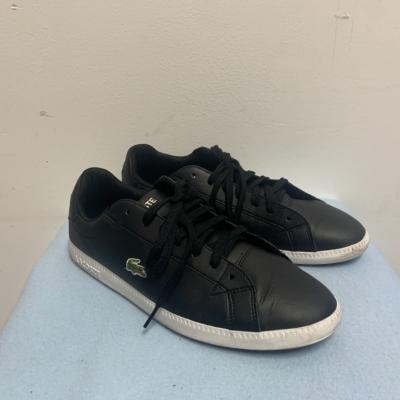 Lacoste Men's Graduate Bl 1 Sneaker UK Size 9 Black