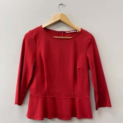 ** REDUCED ** Jane Lamerton Women's Size 10 Long Sleeve Red
