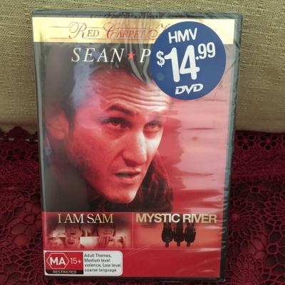 Sean Penn Movies (I Am Sam & Mystic River) BNWT, Region Code 4/PAL