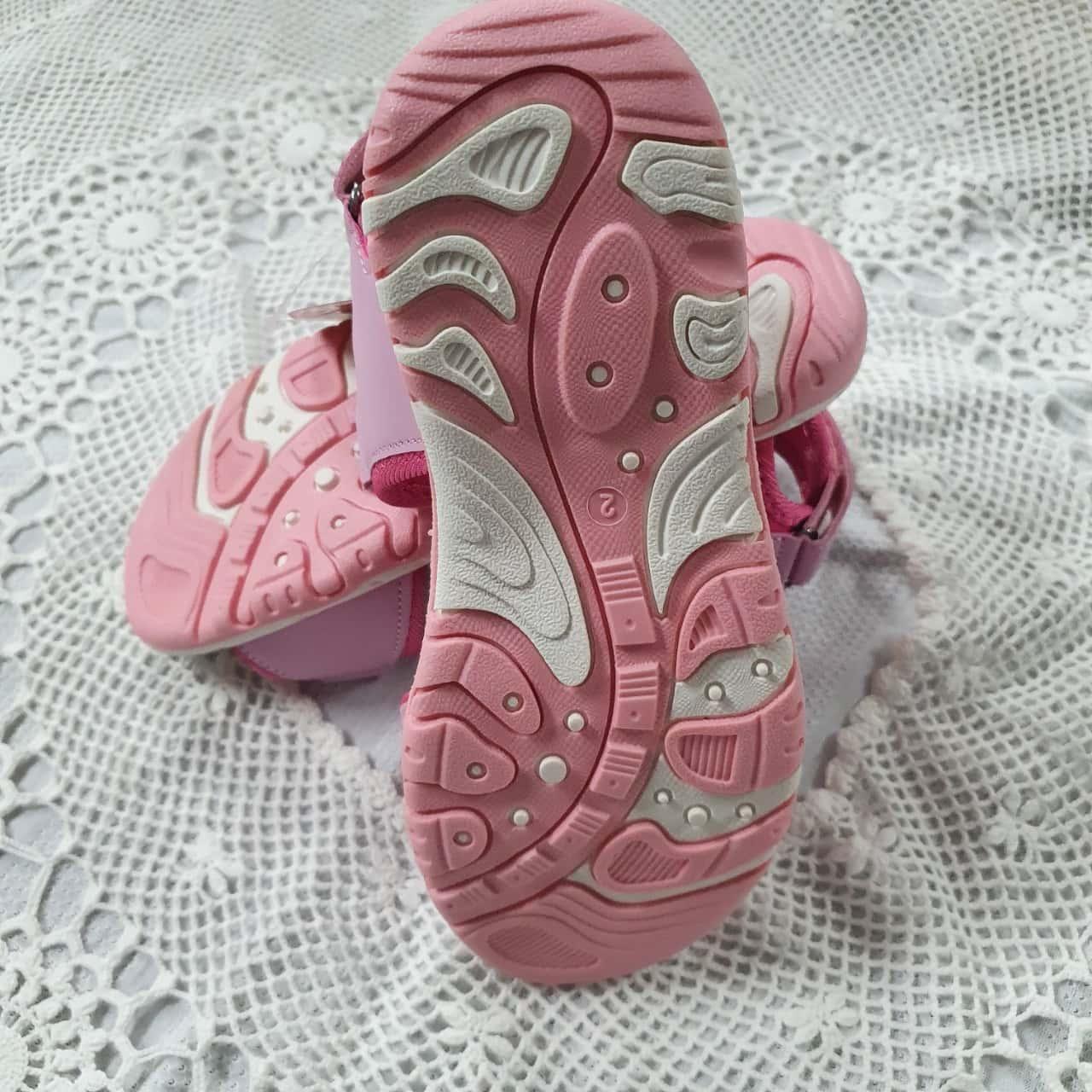 Bubble Gummer Kids  Size 2 Shoes Pink