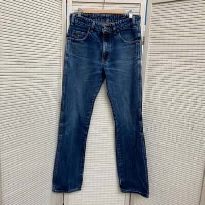 R.M.Williams Mens  Size 32 Straight Jeans Blue