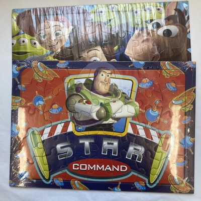 Toy Story Frame Tray Puzzles Ages 3+ - New With Original Packaging