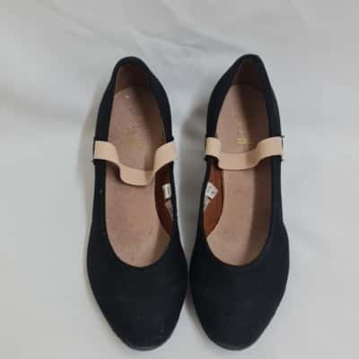 BLOCH Girl's Character Shoes Size 5 Black