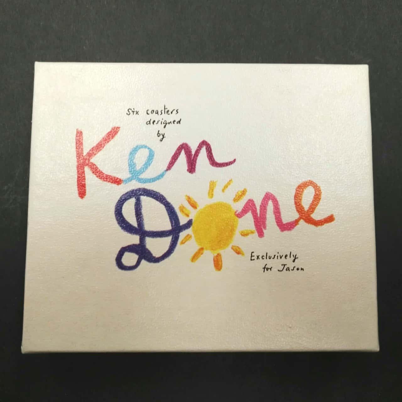 Ken Done Drinks Coasters