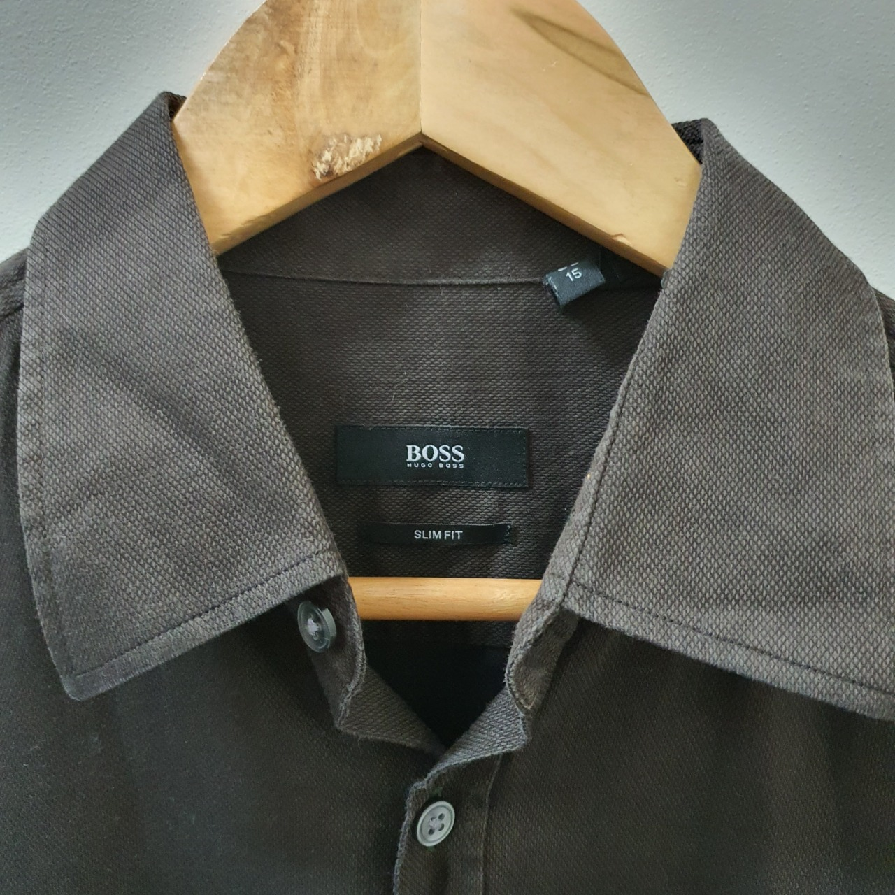 Men's 'Hugo Boss' Long Sleeve Shirt - Size 38