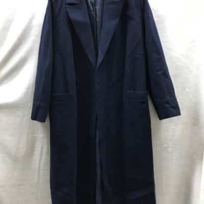 Sportscraft Womens Trench Coat Navy Blue