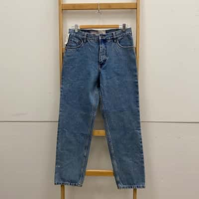 Just Jeans Mens  Size 32 Crop Jeans Blue